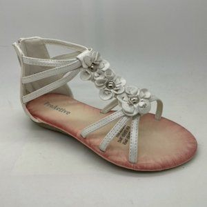 Girls Shoes ProActive Mariah Pearl White Sandals